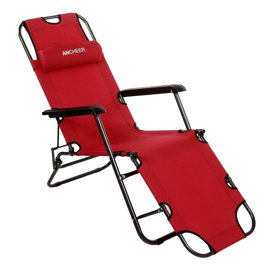 Homdox muebles 178 cm Escritorio de oficina silla más ocio plegable ...