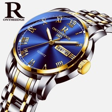Luxury Business Quartz Watches Men Top Brand Luminous Men's Watch New Fashion Stainless Steel Scrap Clock Relogio Masculino стоимость