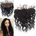 9A tecer água cabelo virgem Peruano onda solta rendas frontal agrupar cabelo do bebê top encerramento em frente Virgem 100% humano cabelo