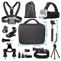 Basic 11-in-1 Accessories Combo Bundle Kits for GoPro HERO 1 2 3 4 Session & Waterproof Action Sports Camera