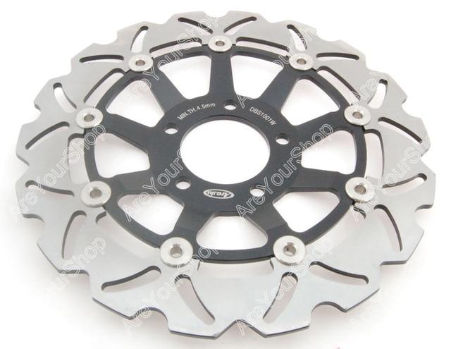 Areyourshop 290mm Aluminum Front Brake Disc Rotor Motorcycle Brake Disk Color for Suzuki GSX400 IMPULSE GSX R 400 SV650 RF 600 R
