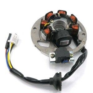Новый статор намагнето катушка для 2-тактного 2T 49cc 50cc 1PE40QMB JOG Minarelli скутер quad ATV 5 проводов 3 pin 7-Coil