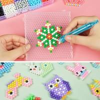 New Selling 5mm Aqua Beads DIY 3d Puzzles Toys Set Hama Beads Perler Beads New