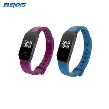 WP105 Bluetooth IP67 Водонепроницаемый сердечного ритма крови Давление Браслет фитнес-трекер Браслет Smart спортивные группы