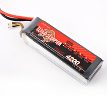 1pcs Wild scorpion RC 11 1V 4200mAh 35C Lipo Battery For RC Quadcopter Drone Helicopter Car