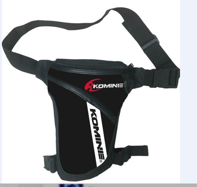 2017 New Komine Motocicleta Mensageiro Sliding Hip Bum Sacos de Cintura Pacote de Cintura Perna Queda Cruz Bicicleta Ao Ar Livre Sacos de Bicicleta