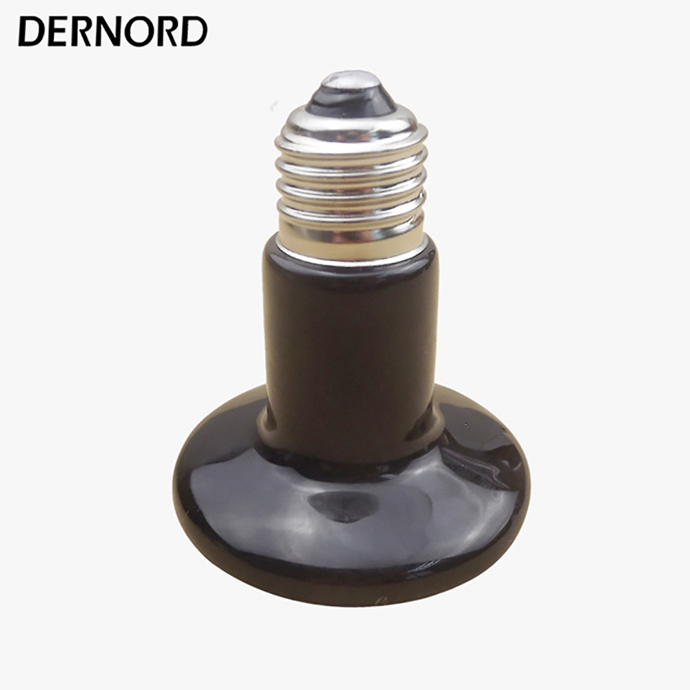 110v-120v 100w Poultry Ceramic Heating Emitter Black Heating Lamp for Pet Heating Bulb for Reptile with Socket E26 110v 120v 100w poultry ceramic heating emitter black heating lamp for pet heating bulb for reptile with socket e26