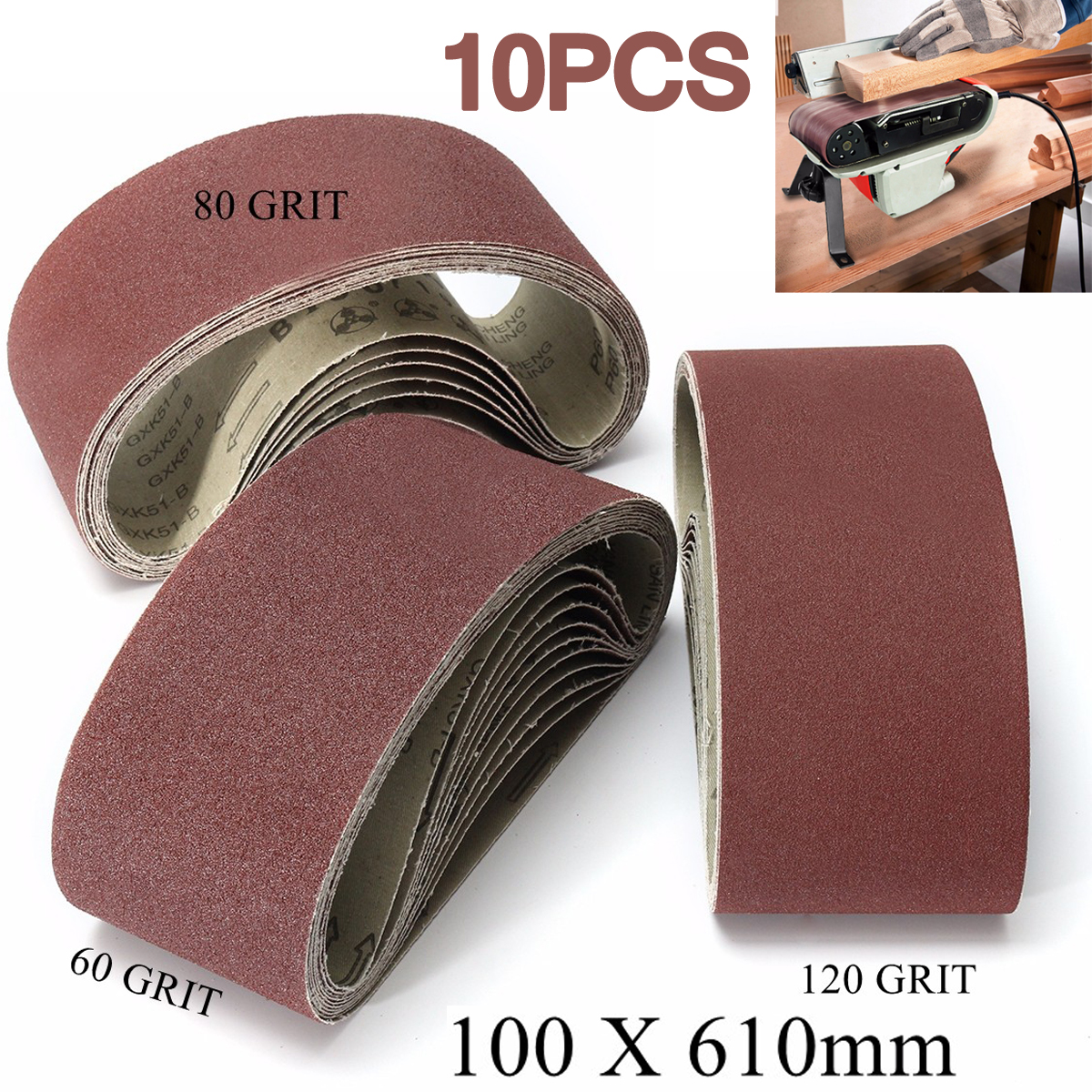 30PCS 150mm Self Adhesive 80//180//320 Grit Sanding Disc Stick On Sandpaper Peel