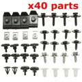 Car Engine Undertray Cover Clips Bottom Shield Guard Screws For TOYOTA/AVENSIS