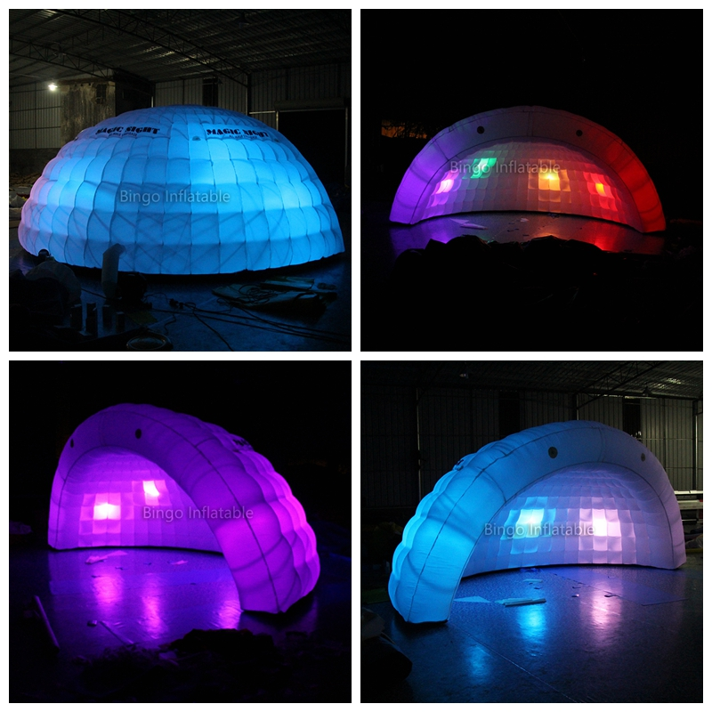 portable inflatable dome sea shell tent with led for party/wedding/events/commercial use toy tent набор else palermo для масла уксуса и специй 5 предметов