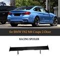 Auto Styling Carbon Faser Auto Hinten Flügel Boot Lip Spoiler Für BMW F82 M4 Coupe 2 Tür 2014 2017-in Spoiler & Flügel aus Kraftfahrzeuge und Motorräder bei