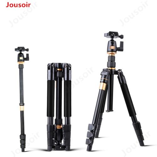 Kamera Stativ QZSD Q555 Aluminium Legierung Kamera Video Einbeinstativ Professionelle Erweiterbar Stativ Mit Quick Release Platte Stehen CD15