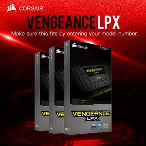 Image 1 - CORSAIR Rache LPX HOCHLEISTUNGS GPS CHIPSATZ 8GB 16GB 32GB DDR4 PC4 2400MHZ Desktop Loptop RAM ECC Speicher ECC Lebensdauer garantie Freies Verschiffen
