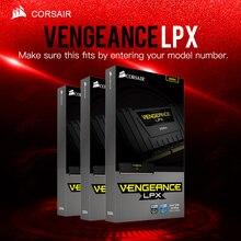 CORSAIR Vengeance LPX 8 ГБ 16 ГБ 32 ГБ DDR4 PC4 2400 МГц Настольный Loptop RAM ECC память ECC пожизненная гарантия бесплатная доставка