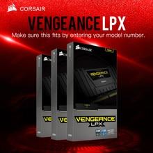 Corsair vingança lpx 8gb 16gb 32 ddr4 pc4 2400mhz desktop loptop ram ecc memória ecc garantia de vida frete grátis