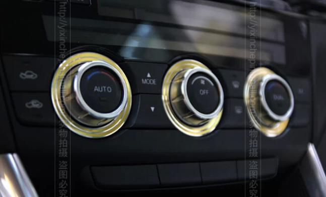 cx5 air-conditioning knobs Decorative circle Modification Interior Stick used for cx-5 cx5