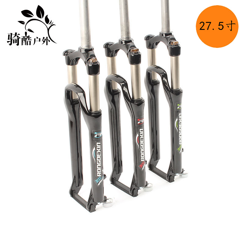 Mountain bicycle Fork 27.5er 29er MTB bikes suspension fork spring resilence oil damping manual control