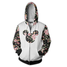 3d Digital Print long sleeve Sweatshirt Hooded spring autumn Men and Women pullover coat Anime periphery full of Zipper Jacket