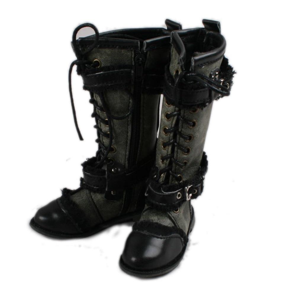 [wamami] Blackish Green Punk High Boots Male For 1/3 SD DOD BJD Dollfie тушь для ресниц sana sana sa045lwwga29