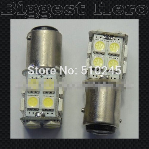 100X hot sales 1156 1157 BAY15D 5050 20 SMD LED Parking Brake/Stop Lights White Tail/Rear Lamp Car Auto 12V bulb free shipping