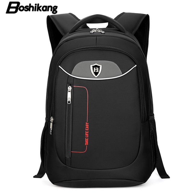 Boshikang Men Backpack Business Oxford 15.6