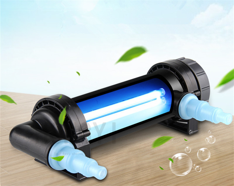 JEBO 2pieces/lot UV Water Filter Sterilizer Lamp Original Accessory Water Inlet And Outlet Water Cleaner For Aquarium