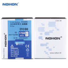 Hot Originales NOHON Batería 1700 mAh EB-F1A2GBU Para Samsung Galaxy S2 I9100 I9108 I9103 I9188 i777 i9101 R Z Reemplazo baterías