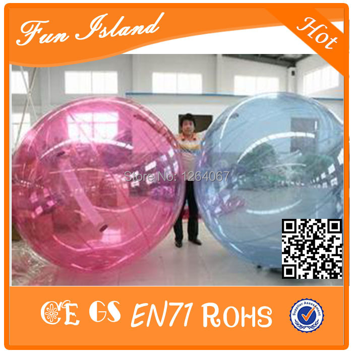 2016 Hot Sale Water Ball Inflatable Water Walking Ball 100 TPU Zrob Ball