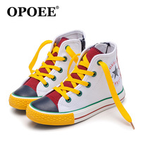 Top Fashion Cool Boots For Boys Girls Casual Light Canvas Kids Shoes Cool High Quality Children
