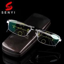 Smart Zoom Asymptotisch Multi brenn Progressive Lesebrille Hohe Qualität Presbyopie Hyperopie Bifokale Brillen 517