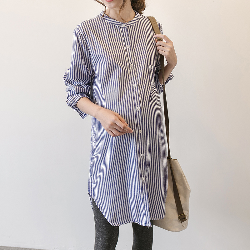 Spring Autumn Maternity Blouses Shirts Tops Pregnant Dress Soft Blouse Vestidos Pregnancy Clothes For Pregnant Women Y14 2017 new spring women maternity t shirt
