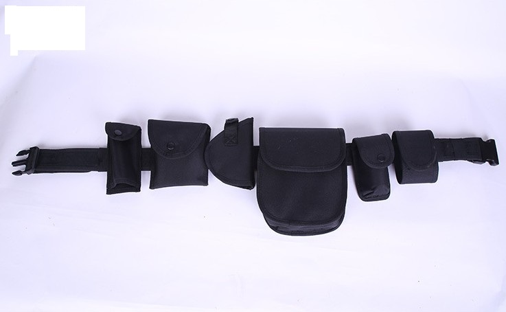 Tactical Gun Belt Bag Police Equipment System Multi functional Police Utility Guard Belt Pouch Set Holster Modular Bag