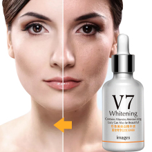 Images V7 Whitening Essence Hyaluronic Acid Serum Contains Vitamins Moisturizing Anti Wrinkle Hydrating Face Skin Care