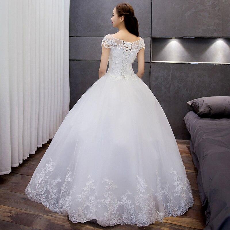 vestido de casamento weeding tule boné manga longa vestido de casamento