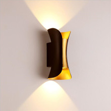 LED Outdoor Waterproof COB 10W LED Wall lamp hotel wall double wall light door post balcony up and down photo 2x5W led wall lamp