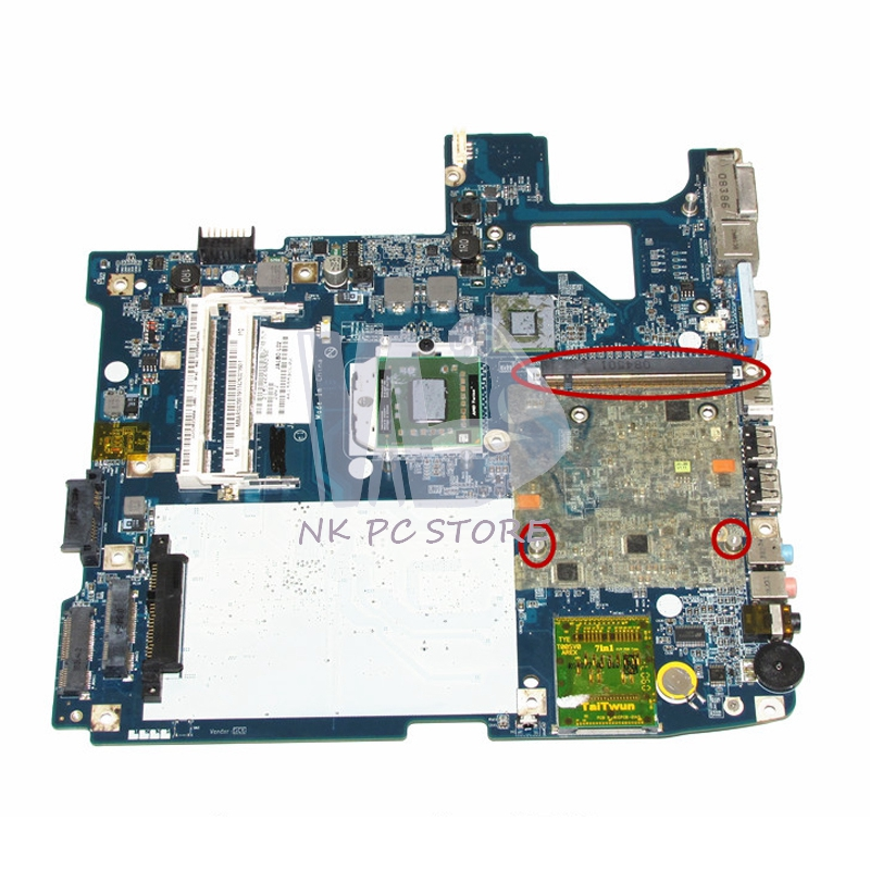 MBARS02001 MB.ARS02.001 For Acer aspire 5530 5530g Laptop Motherboard LA-4171P DDR2 Socket s1 with GPU Slot Free CPU