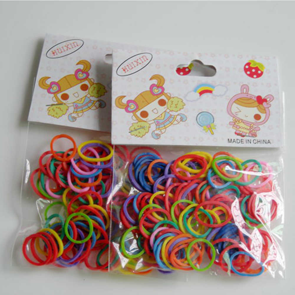 100pcs/Bag Newest Colorful Pet  Supplies Pet Dog Grooming Rubber Band Pet Hair Product Hairpin Accessories Hair Accessorie