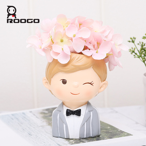 Image 3 - Home decoration accessories flower pot decorative small succulent plant pot wedding gifts birthday present desktop decorations