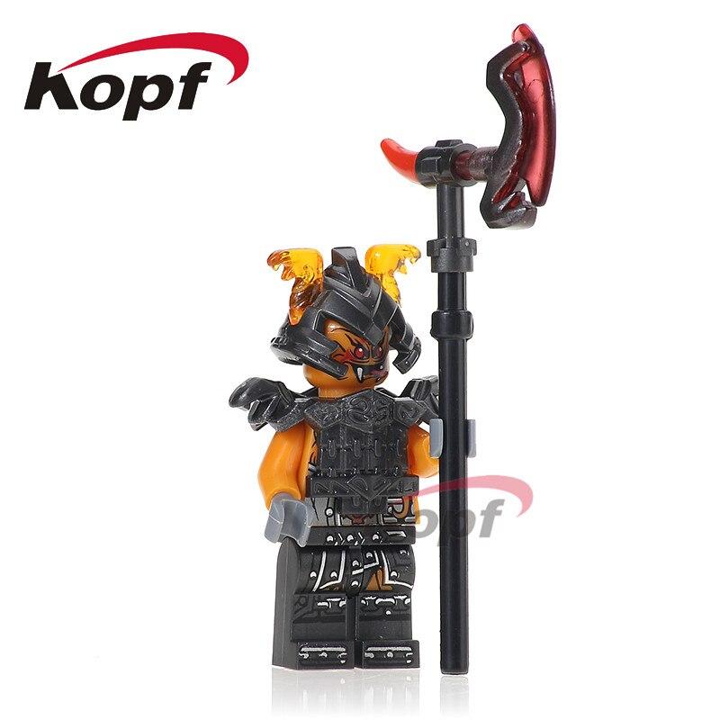 Одной продажи Бронка Зейн паразитов Вэй змея LLOYD самурая x строительные блоки Super Heroes действие кирпич Детский подарок игрушки PG1012