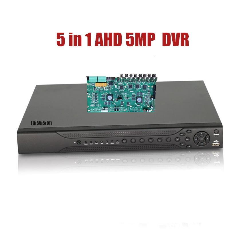 AHD 5MP DVR 1080P 2MP CCTV Camera Surveillance Video Recorder Hybrid 5 in 1 Security System AHD DVR Support Onvif NVR TVI CVI ahd 5mp dvr 1080p 2mp cctv camera surveillance video recorder hybrid 5 in 1 security system ahd dvr support onvif nvr tvi cvi
