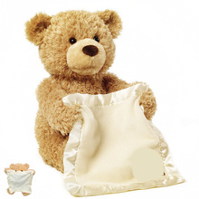 Peek a boo Soothe Teddy Bear Plush Stuff font b Toys b font Teddy Bear Dolls
