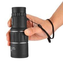 Водостойкий 16×52 HD двойной фокус Монокуляр Зрительная труба зум-оптический объектив бинокль покрытие линзы Охота оптический прицел