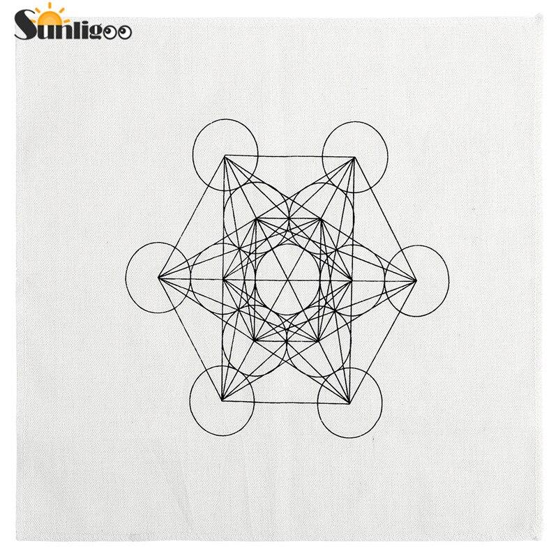 Murales pegatinas metatrons cubo Metatrón /'s Cube geometría sagrada círculos