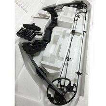 Sueño negro De Aluminio de Aleación de Arco Compuesto Con 20-70 libras de Peso Dibujar al aire libre de Camo Y Negro Color para humanos caza, arco tiro con arco