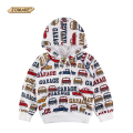 Cartoon Cars Boys Hoodies 2016 Spring Casual Baby Boy Hooded Sweatshirts Kids Hoodies Pullover Boys Clothes Children Clothing