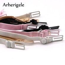 Arherigele 5pcs Double-shoulder Strap Anti Slip-resistant Belt Buckle Shoulder Strap Non-Slip Back Bra Straps Holder Adjustable