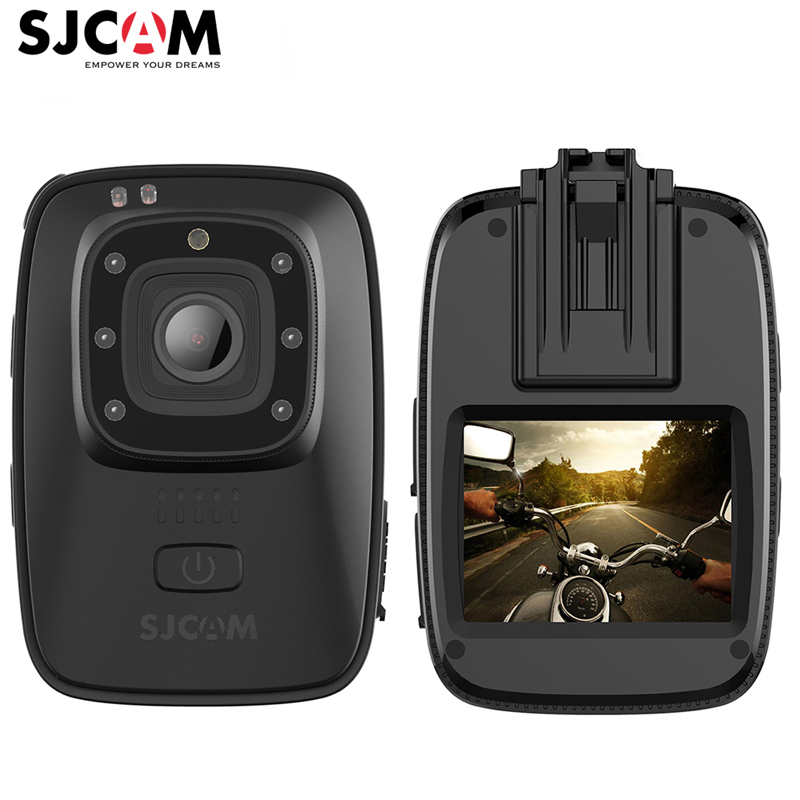 SJCAM A10 1080 p HD Novatek96658 Körper Kamera Tragbare Infrarot Sicherheit Kamera 2056 mah Nachtsicht IPX6 Wasserdichte Action Kamera