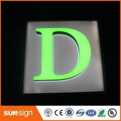 Custom acryl 3D Dimensionale Letters teken met LED licht
