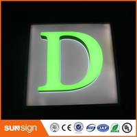 Custom Acrylic 3D Dimensional Letters Sign With LED Light