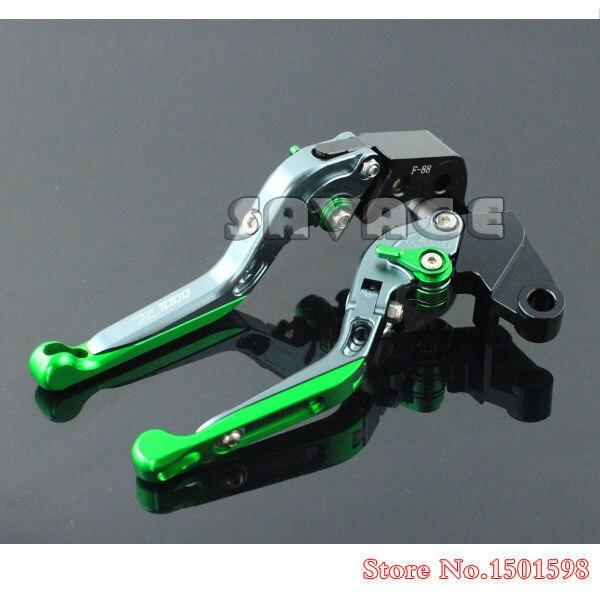 цены  Special CNC Adjustable Folding Extendable Brake Clutch Levers For KAWASAKI Z1000 2007-2014
